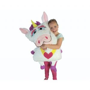 Snuggle Pets Shamzees Pillow Eating Friends - Candy Corn Unicorn